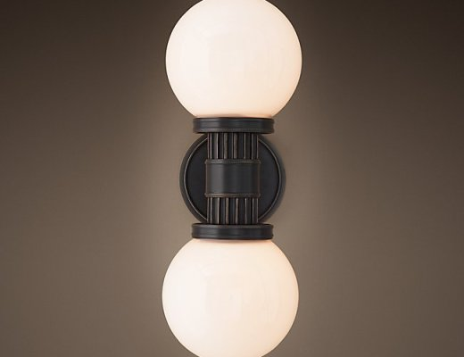 Davenport Sconce is a good example for Mid Century Modern Sconces
