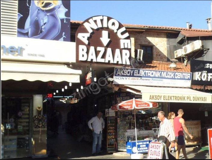 Vintage shopping in Antalya, Turkey