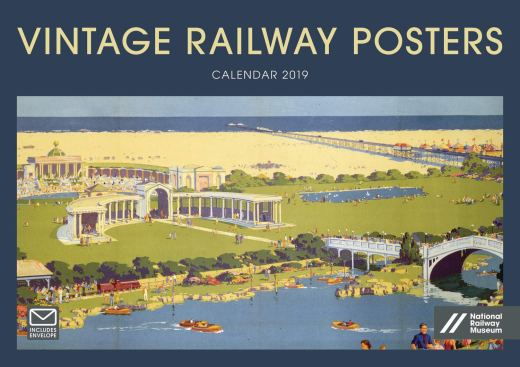 Vintage Railway Posters Nrm A4 2019