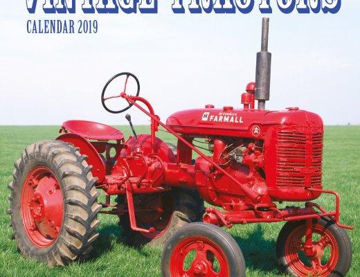 Vintage Tractors Wall Calendar 2019 (Art Calendar) Calendar