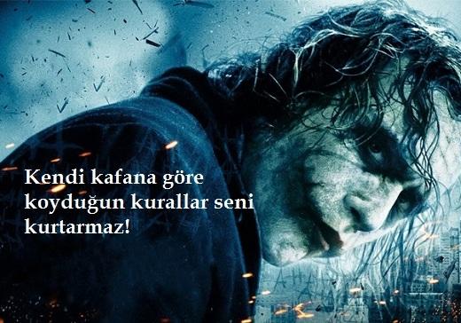 Joker Sözleri Dark Knight never do it free