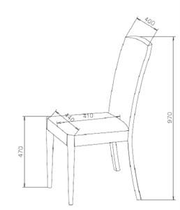 Sandalye oturma yüksekliği kaç cm?