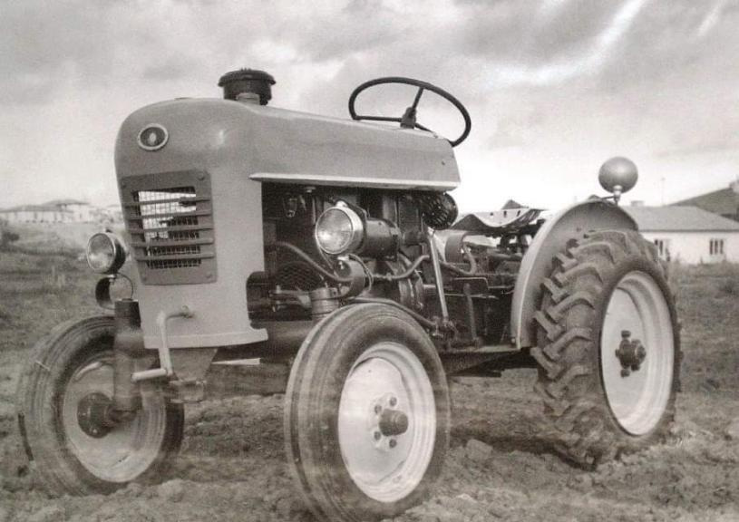 Turkey's first domestic tractor- HSG