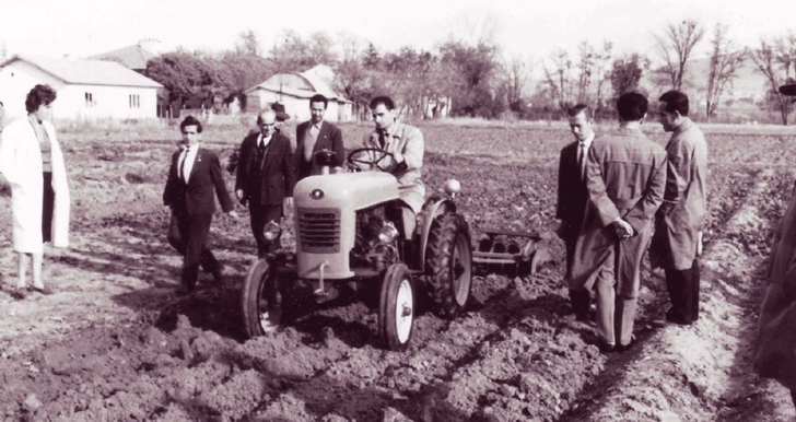 Turkey's first domestic tractor- HSG 1963