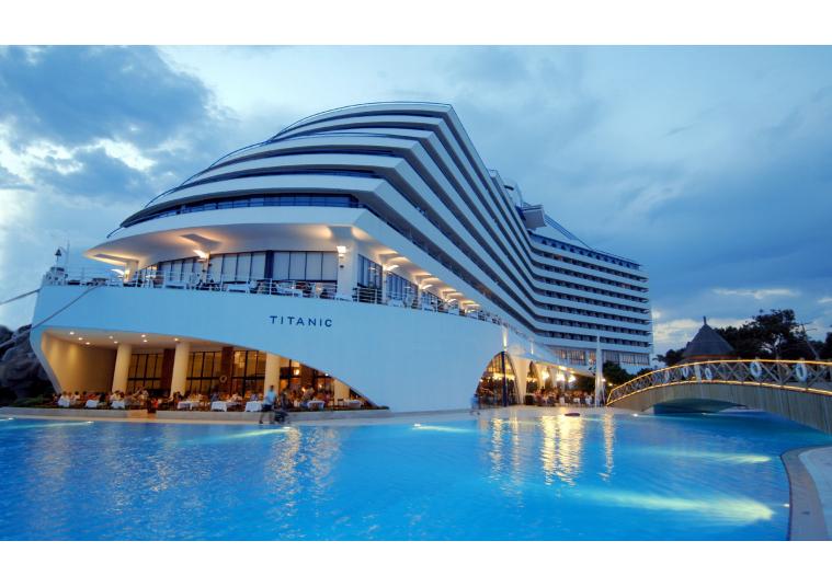 How many 5 stars hotels in Antalya Turkey?